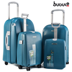 BUBULE Hot Sale Designer Luggage Sets 4Pcs Wheeled Travel Trolley Suitcases
