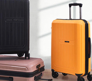 Choose ABS material or PC material for the trolley luggage?