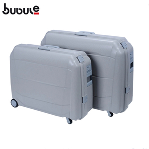 BUBULE PP Classic Hot Sale Luggage Customize Travelling Bags OEM Suitcases