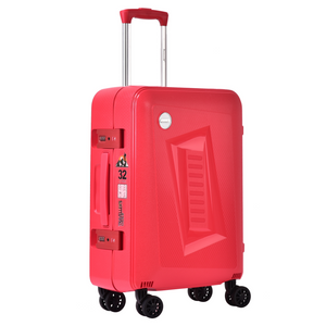 BUBULE 28'' PP OEM Lock Travel Suitcase Wheeled Trolley Luggage