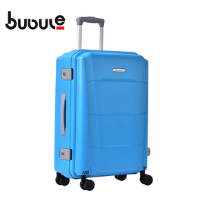 BUBULE 18'' Compact PP Spinner Luggage Bag Customize Travelling Suitcase