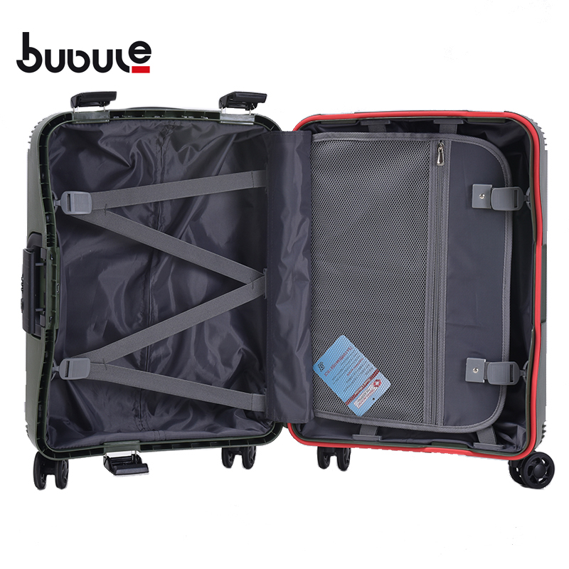 BUBULE PP Wheeled 3PCS Trolley Luggage Sets Customized Spinner Luggage Bags forTravel