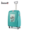 BUBULE 18'' Light Carry on Luggage Custom Small Luggage Super Light Trolley Bag with Universal Wheels