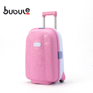 BUBULE Popular PP Wheeled Cute Kids Suitcase Travel Luggage